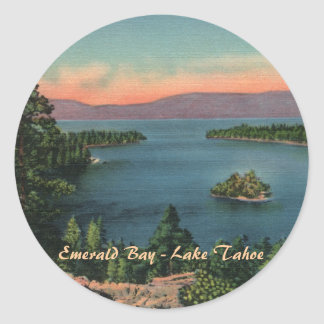 Emerald Bay - Lake Tahoe Stickers