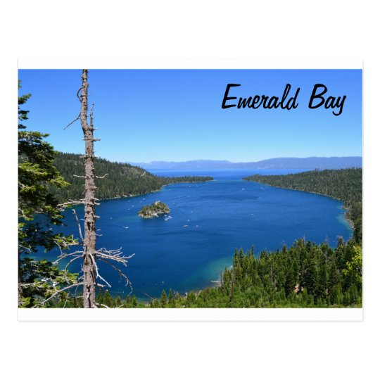 Emerald Bay Postcard