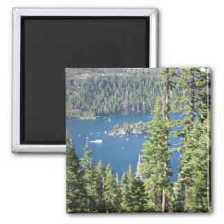 Emerald Bay Square Magnet