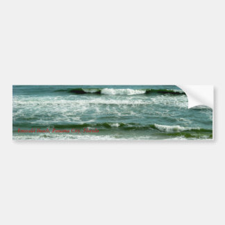 Emerald Beach, Florida - Bumper Sticker Car Bumper Sticker
