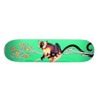 emerald black lemurboard 21.6 cm skateboard deck