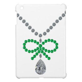 Emerald Bow Necklace iPad Mini Cover