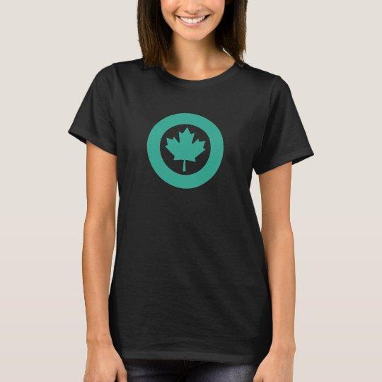 Emerald Canadian Roundel T-Shirt
