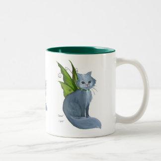 Emerald Cat Mug