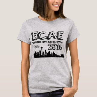 Emerald City Author Event 2016 - Grey T T-Shirt