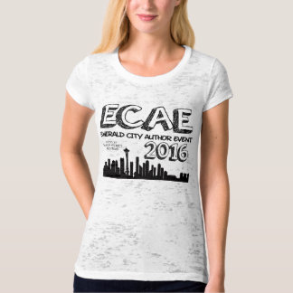 Emerald City Author Event 2016 - Marbled T T-Shirt