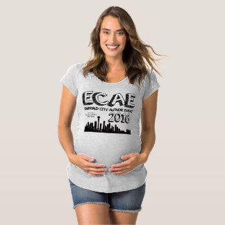 Emerald City Author Event 2016 - Maternity T-Shirt