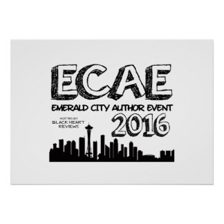 Emerald City Author Event 2016 - Poster #2