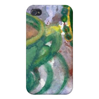 Emerald Coffee CricketDiane Coffee Art iPhone 4 Cover