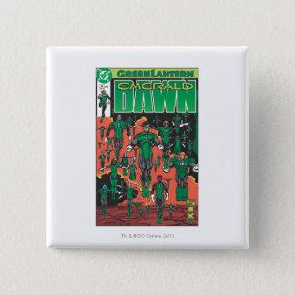 Emerald Dawn Cover 15 Cm Square Badge