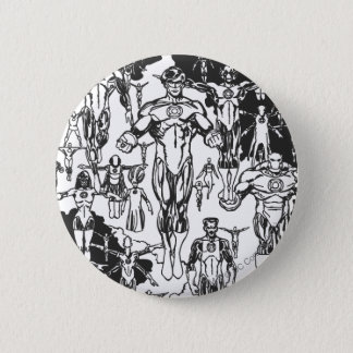 Emerald Dawn Cover, Black and White 6 Cm Round Badge