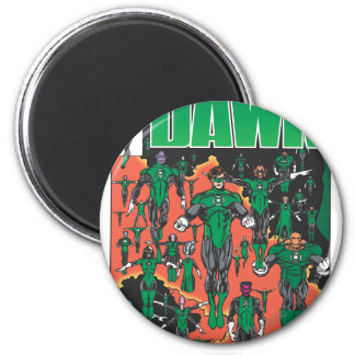 Emerald Dawn Cover Magnets
