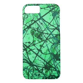 EMERALD DREAM (an abstract art design) ~ iPhone 7 Case