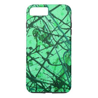 EMERALD DREAM (an abstract art design) ~ iPhone 7 Plus Case
