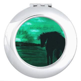EMERALD,DREAMS - HORSE TRAVEL MIRROR