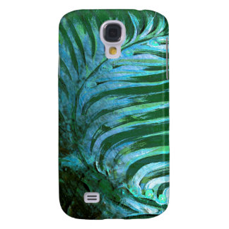 Emerald Feathering I Galaxy S4 Case