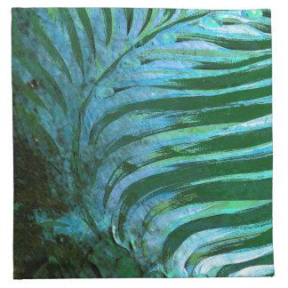 Emerald Feathering I Napkin