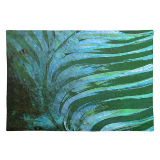 Emerald Feathering I Placemat