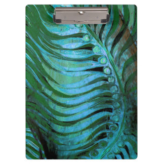 Emerald Feathering II Clipboard