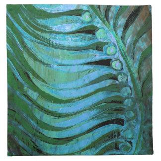 Emerald Feathering II Napkin