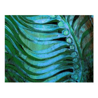 Emerald Feathering II Postcard