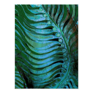 Emerald Feathering II Poster