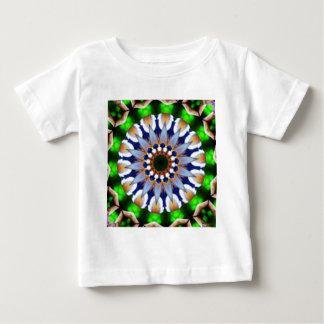 Emerald FlowersStar by CGB Digital Art.png Baby T-Shirt