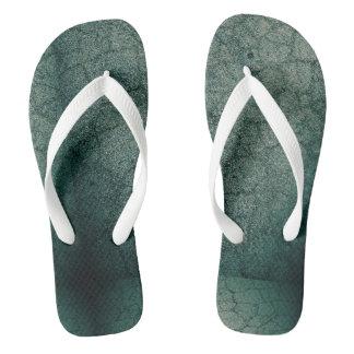 Emerald Frost Flip Flops