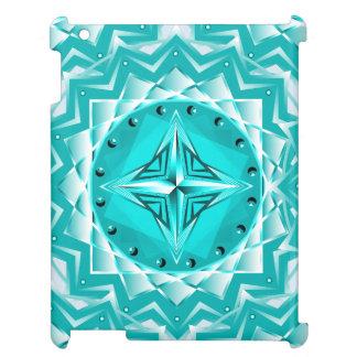 Emerald Geometry iPad Case