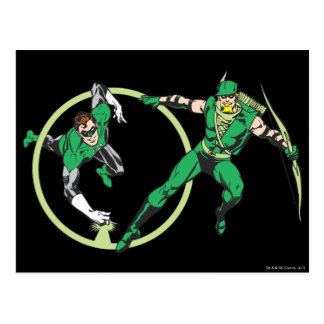 Emerald Gladiator & Emerald Archer Postcard