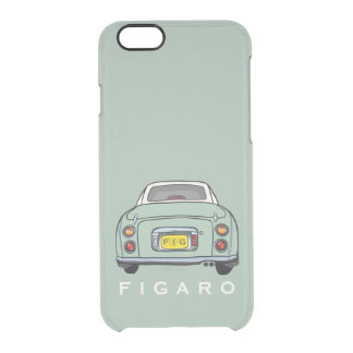 Emerald Green Figaro Car Personalized Clear iPhone 6/6S Case