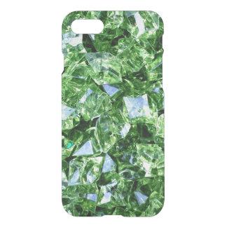 Emerald green geode crystal gemstone photo hipster iPhone 7 case
