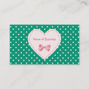 Emerald green business cards business card printing zazzle uk emerald green heart business name business card reheart Gallery