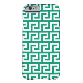 Emerald Green iPhone 6 Cases - Meander Pattern