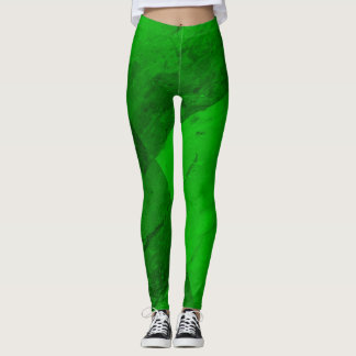 Emerald Green Leggings
