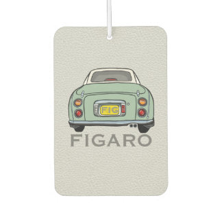 Emerald Green Nissan Figaro New Car Smell Dangly Car Air Freshener