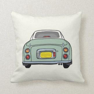 Emerald Green Nissan Figaro Pillow Cushion