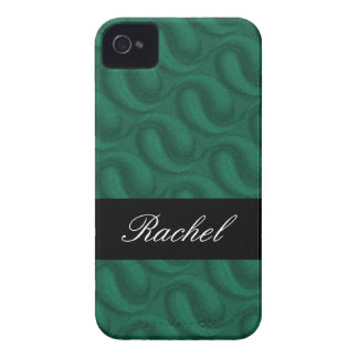 Emerald Green Personalized Blackberry Bold Cases