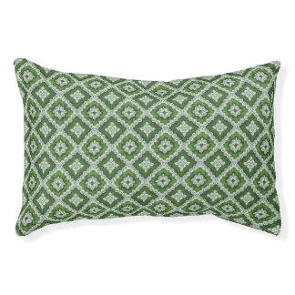 Emerald Green Renaissance Swirl Pet Bed