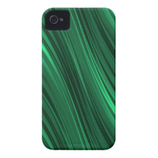 Emerald green shaded stripes iPhone 4 Case-Mate cases