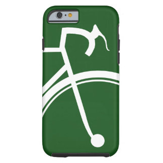 Emerald green sporty Bike iPhone case