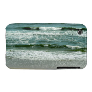 Emerald Green Waves at Panama City Beach Florida iPhone 3 Case-Mate Cases