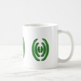 Emerald Green WAVES KISSES BANGLES COSTUME Mug