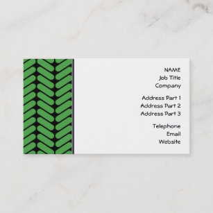 Knitting business cards business card printing zazzle uk emerald green zigzags inspired by knitting business card colourmoves