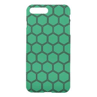 Emerald Hexagon 3 iPhone 7 Plus Case