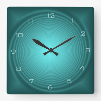 Emerald Illuminated Design> Patterned Wall Clocks