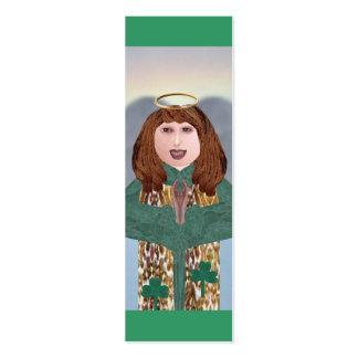 Emerald Isle Angel, Mini Bookmarks Pack Of Skinny Business Cards