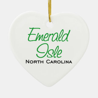 Emerald Isle, NC Christmas Ornament