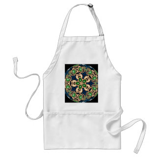 Emerald Jewels Kaleidoscope Standard Apron