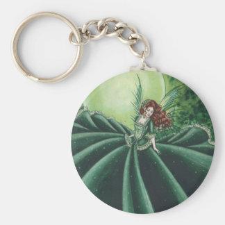 Emerald Key Ring
